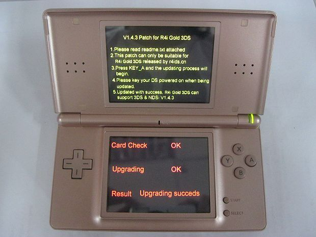 PATCH NDSL.NDS R4IGOLD3DS V143 TÉLÉCHARGER